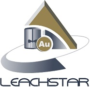 LeachStar logo for Advanced Process Control for efficiency and recovery for gold plants to reduce cyanide consumption and carbon losses